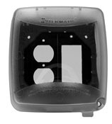 INT WP5220C INT IN USE WEATHERPROOF COVER DOUBLEGANG VRT CONF 2.25' CLEAR