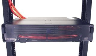 hpw FCR350SP36R HPW FIBER ENCLOSURE 2RU 6-PANEL CAP EMPTY RACK MOUNTED