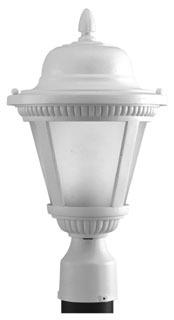 prg P5445-3030K9 PRG 1-9W LED 3000K POST LANTERN
