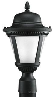 prg P5445-3130K9 PRG 1-9W LED 3000K POST LANTERN