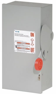 CH DH361FRK CH 30A/3P HD FUSIBLE SAFETY SWITCH 600V NEMA 3R