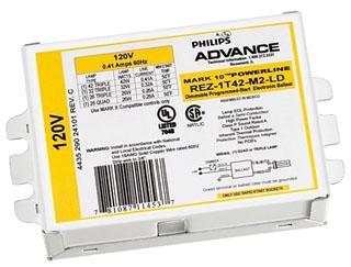 adv REZ-1T-42-M2-LD ADV BALLAST DIMMING F/1 26-42W 4-PIN 120V