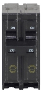ch CHQ220 CH SQD QO REPLACEMENT BREAKER 2P 20A 240V PLUG IN UL