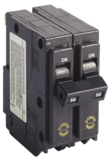 ch CHQ250 CH SQD QO REPLACEMENT BREAKER 2P 50A 240V PLUG IN UL