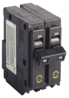 CH CHQ260 CH SQD QO REPLACEMENT BREAKER 2P 60A 240V PLUG IN UL