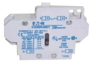 CH C320KGS1 CH AUX CONTACT 1 NO IEC