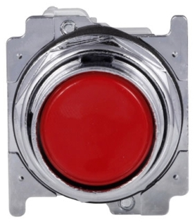 ch 10250T30R CH PUSHBUTTON FLUSH W/NO CONTACT RED