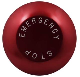CH 10250TJ63 CH PB RED EMERGENCY STOP JUMBO CAP