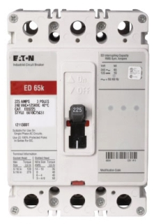ch EHD3015 CH BREAKER 3P 15A 480V BOLT ON