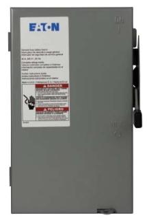 CH DG321UGB CH SAFETY SW 30A 240V 3P NON-FUSE N1