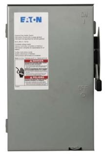 CH DG321URB CH SAFETY SW 30A 240V 3P NON-FUSE N3R
