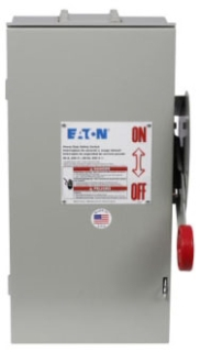 ch DH222FRK CH 60A/2P HD FUSIBLE SAFETY SWITCH 240V NEMA 3R