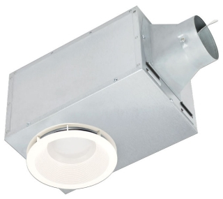 DEL REC80LED DELTA 80 CFM RECESSED FAN/LED LIGHT/N-LIGHT 14.5W 1.5 SONES