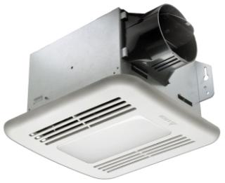 DEL GBR80LED DELTA 80CFM FAN/LED LIGHT 11.6W 0.8 SONES