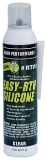 DOT RTV8 DOT SILICON CLEAR CO2 8.0 OZ
