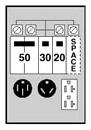 MID U075CTL010 MID RV BOX 100A 120/240V W/BRKRS 14-50R 50A-BR32U 30A & 5-20R2GFI 20A