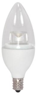 SAT S8952 SAT 4.5CTC/LED/3000K/E12/120V 4.5W 3000K CAND BASE LED LAMP