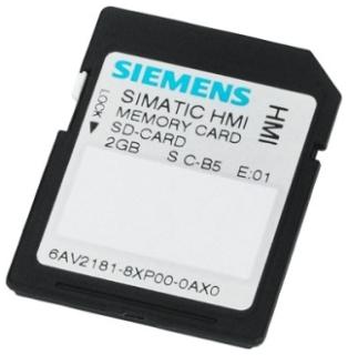 SIE 6AV2181-8XP00-0AX0 SIE SIMATIC HMI MEMORY CARD 2G COMFORT PANEL