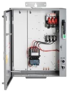 SIE 87EUE6FC SIE PUMP PANEL SZ 1 3/4 30A 600V FUSE CLIPS 15HP MAX 240/480V COIL 10-40A