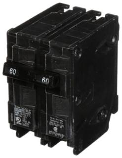 SIE Q260 SIE BREAKER 60A 2P 240V PLUG IN