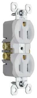 PAS 3232-W PAS REC DUPLEX 3W 15A 120V WH
