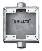APL FSC275 APL 3/4 THREADED UNILET 2-GANG