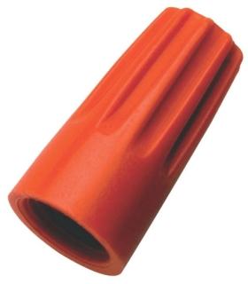 IDL 30-073 IDL WIRE NUT 73B ORANGE (100)