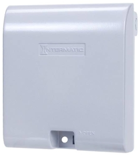 INT WP1030MXD INT COVER DEEP 2G F/ DUPLEX OR GFI N3R WHEN IN USE METAL