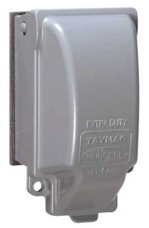 TAY MX3200 TAY WP IN-USE COVER 8IN1 VERT GRAY 1G METAL