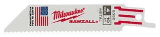 MIL 48-00-5182 (5/PK) MIL SAWZALL BLADE 14T 6L