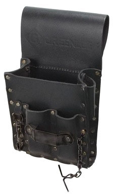 gre 0258-13 GRE POUCH LEATHER 5 POCKET