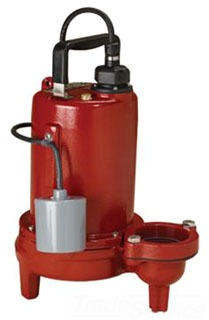 LIBERTY 1HP 208-230V SEWAGE PUMP LE102M2