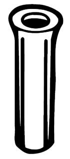 BLKB 50230 9-12PLSTC FLNG ANCH