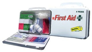 DOT FK25E FIRST AID KIT W/CASE