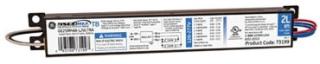 GE UltraMax™, 60 Hz, Low (.77) Ballast Factor, Instant Start, 9.5 IN Length, 1.3 IN Width, 1.18 IN Height, 2 or 1- F96T8