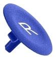 SQD ZBA639 PUSHBUTTON CAPS FLUSH BLUE MARKED R