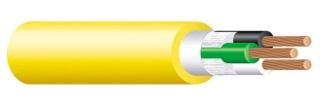 SOW 65572002 14 3/C CU YELLOW SEOOW/STOOW(TPE) 105 1000FT REELS