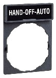 SQD ZBY2387 HAND-OFF-AUTO LEG PLT