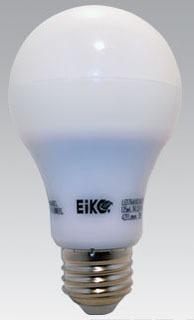EIKO LED9WA19/240/827K-DIM-G4A A19 240DEG BEAM 9W 700LM LAMP