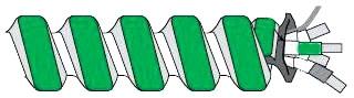 AFC 1504G60-00 HCF STEEL 12/2 W/GRD 1000' REEL