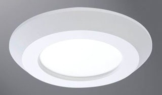 "HALO SLD405830WH 4"" SURFACE LED DOWNLIGHT 120V 80CRI 3000K WHITE"