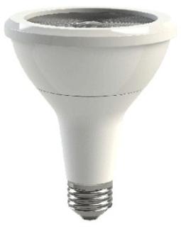 GE LED Lamps, 12 WTT, 1000 LM, 2700 K, 83.3 CRI, Dimmable, PAR30 Long Neck, Medium Screw Base, 4.72 IN Length, 25000 HR Average Life