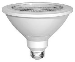 GE LED Lamps, 12 WTT, 1050 LM, 2700 K, 87.5 CRI, Dimmable, PAR38, Medium Screw Base, 5.31 IN Length, 25000 HR Average Life