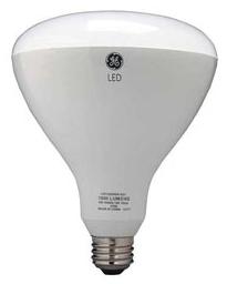 GE LED Lamps, 13 WTT, 1000 LM, 2700 K, 82 CRI, Dimmable, Floodlight, Medium Screw Base, 6.3 IN Length, 25000 HR Average Life