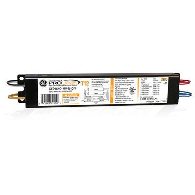 GELB GE296HO-MVPS-N BALLAST 04316835727 2-F96T12HO LAMPS