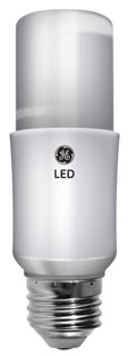 GE LED Lamps, 9 WTT, 800 LM, 2700 K, 88.8 CRI, Non-Dimmable, Medium Screw Base, 15000 HR Average Life
