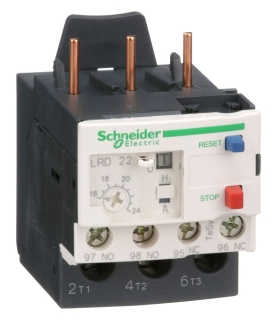 SQD LRD22 600V 24A BIMETALIC OL RL 16-24 RANGE