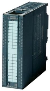 SIEM 6ES73221BH010AA0 MODULE OUTPUT S7300 16DO 24VDC 0.5A 20P