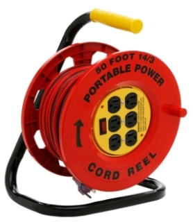 COLM E235 RED CR W/ 6 OUTS & 50' CRD