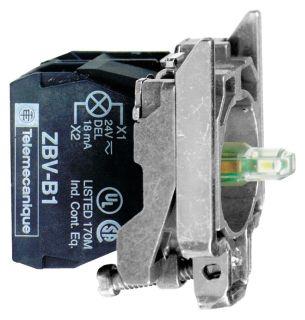 SQD ZB4BW0G35 120V GRN LIGHT MODUL